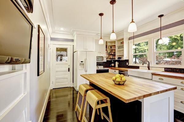 תאורה לעיצוב המטבח