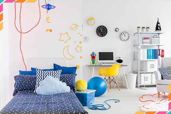 חדרי ילדים מעוצבים ופרקטיים