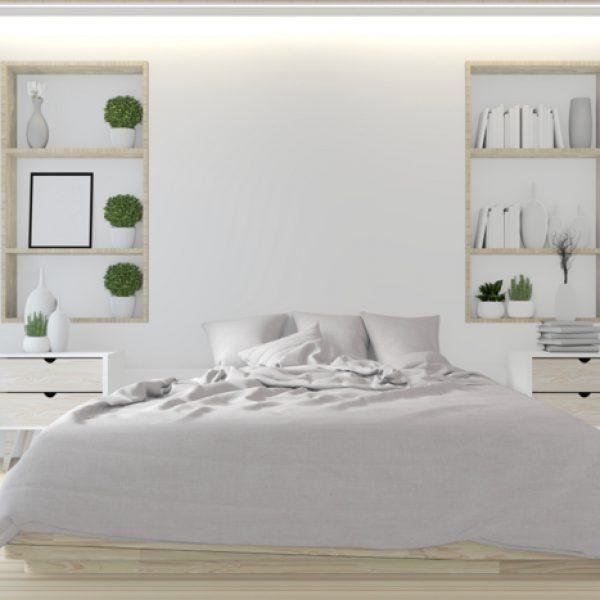 חמישה פתרונות לעיצוב חדר השינה